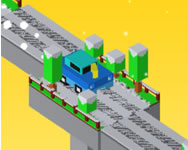 Bridge blocky cars