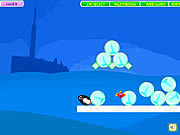 Penguins fun fall online játék