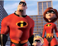 The incredibles find the alphabets ügyességi játékok